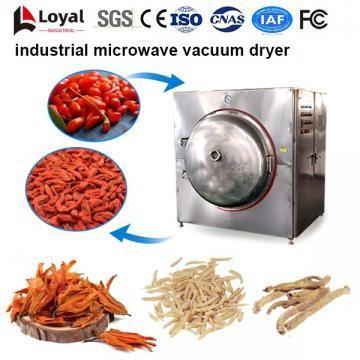 Secador industrial de microondas al vacío