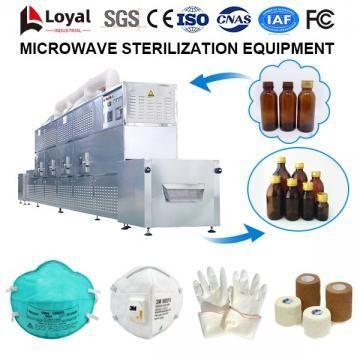 Equipo de esterilización por microondas
