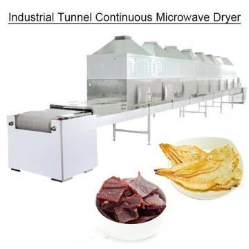 Túnel industrial Secador continuo de microondas