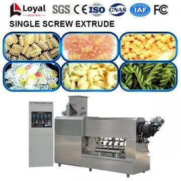 Máquina extrusora de un solo tornillo para procesamiento de alimentos