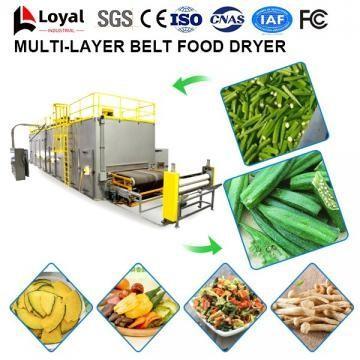 Secador industrial de frutas