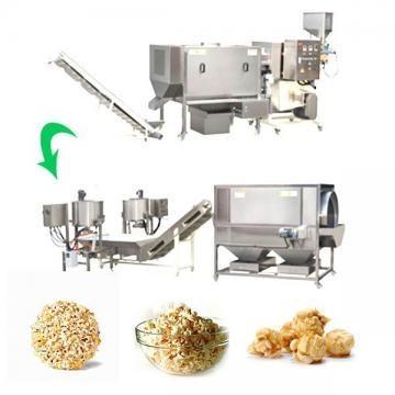Máquinas industriales para hacer palomitas de maíz
