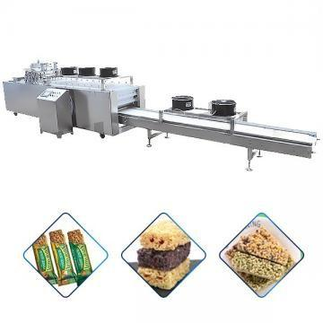 Línea de producción de barras de energía