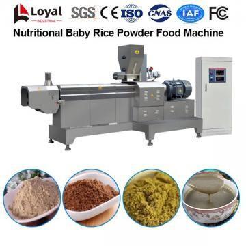 Línea de procesamiento de alimentos de arroz en polvo para bebés