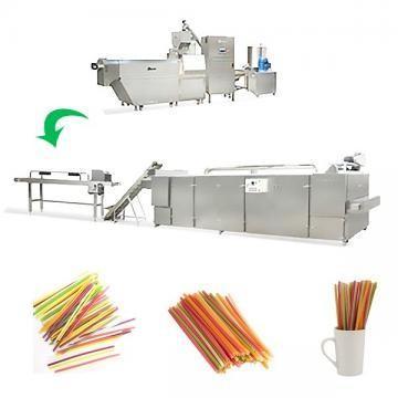 Línea de procesamiento de paja para consumo de arroz biodegradable